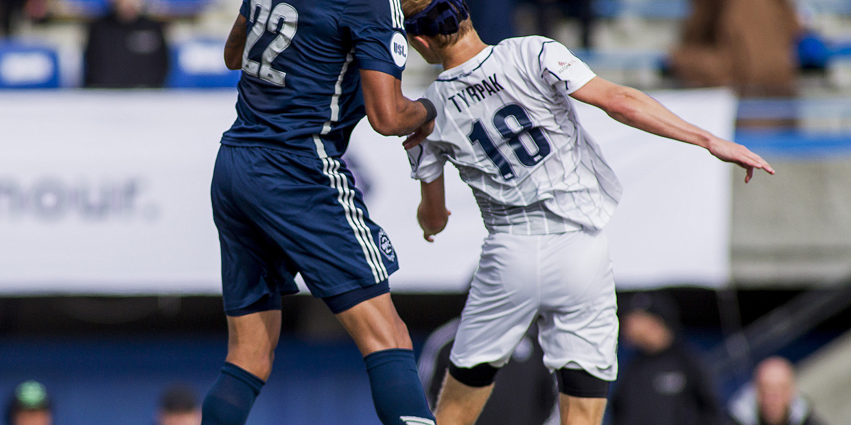 20 September 2015:  Action during a game between Vancouver Whitecaps FC 2 and Austin Aztecs in United Soccer League (USL) action at Thunderbird Stadium on the campus of the University of British Columbia in Vancouver, BC, Canada.  ****(Photo by Bob Frid - Vancouver Whitecaps 2015 -  All Rights Reserved)